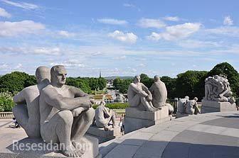 Gör en utflykt till Vigelandsparken i Oslo