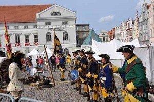 Soldater Schwedenfest Wismar