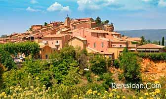 Roussillon – röda klippor och konstnärers eldorado
