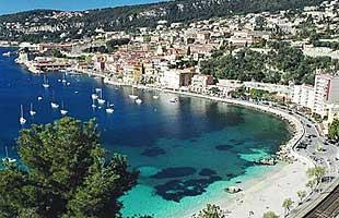 Villefranche sur Mer på Franska Rivieran