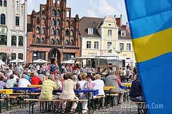 Schwedenfest i Wismar, Tyskland 16 – 19 Augusti 2018