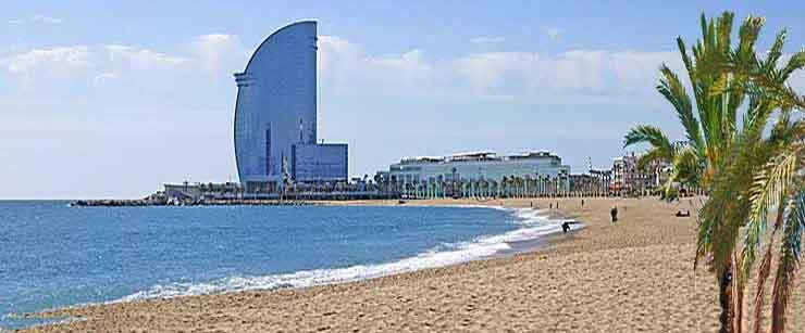 Karta Over Sevardheter I Barcelona.Discover The Charming City Barcelona In Catalunia Spain