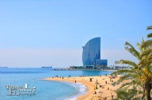 Upptäck den charmerande staden Barcelona i Spanien